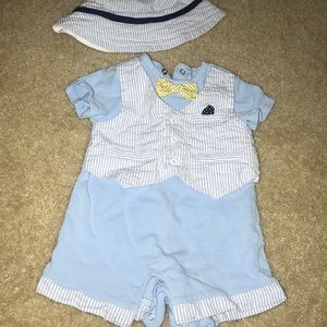 Blue hat and romper